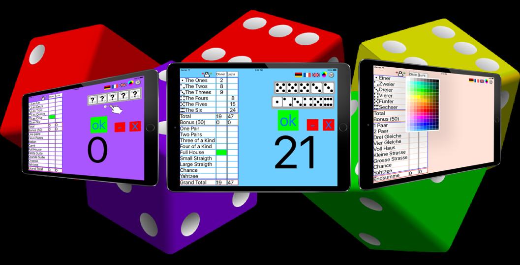 Yatzy ScoreCard