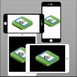 iOS universel, fonctionne sur iPhone et iPad et quel que soit l'orientation porterait ou paysage